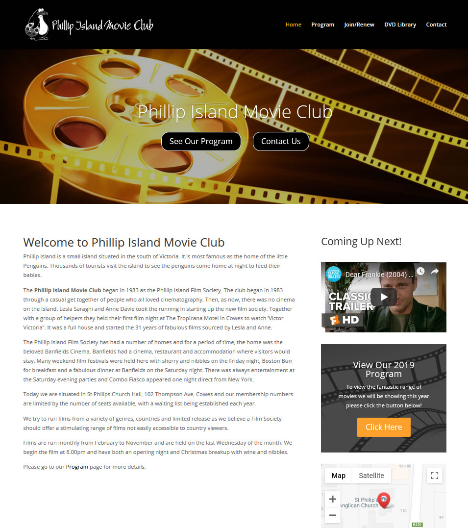 Phillip Island Movie Club